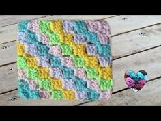 DIY Crochet Tutorial - C2C Corner to Corner - YouTube
