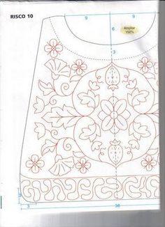 blackwork bag pattern 1