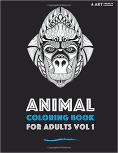 Amazon Animal Coloring Book For Adults Vol 1 Books