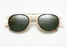 02d1307ce3 Garrett Leight s New Clip-On Sunglasses Are Impossibly Stylish