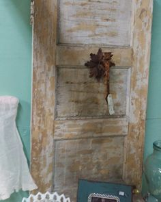 Chippy wooden doors can be used in so many ways!