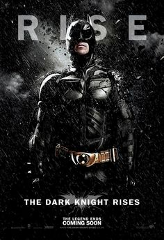The Dark Knight Rises Character Poster (Dark Knight Edition)