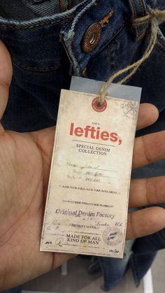 Lefties #hangtag