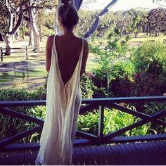 Bali Vibes Long White Dress