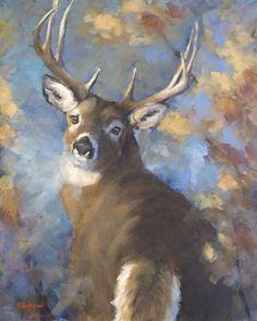 The Art of Debbie Richmond Deer Art, Moose Art, Big Game, Original Art, Wildlife, Artist, Backgrounds, Painting, Animals