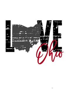Excited to share this item from my shop: Love Distressed Ohio SVG Ohio State T Shirts, Ohio State Buckeyes, Ohio State Tattoos, Ohio State Football, Ohio Image, Vinyl Crafts, Vinyl Projects, Cheer Mom, Vinyl Shirts