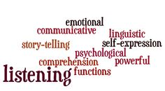 Enhanced Listening Through Storytelling. Learning Methods, Teaching English, Comprehension, Storytelling, Psychology, Self, Words, Recovery, Cloud
