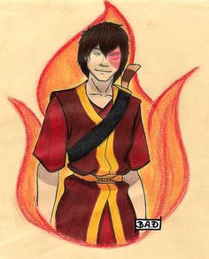 Zuko, the prince by BA-draws.deviantart.com on @DeviantArt