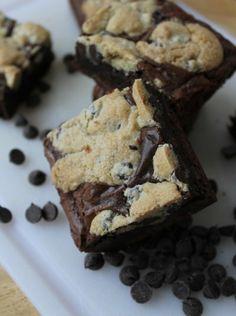 Chocolate Chip Cookie Brownies by Life on Food