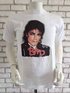 ff764295 20 Best Vintage MICHAEL JACKSON T-shirts images | Michael jackson ...
