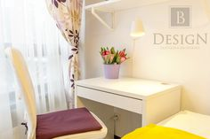#design #interior #brodskaya #b_design #designinterior #interiordesign #bedroom #kidsroom #white #yellow #tablle #chair #интерьер #дизайн #детская  #спальня #бродская #декор #белый
