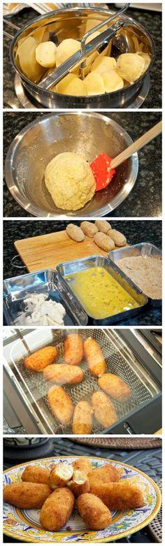Potato Croquettes ~ Practical Cook