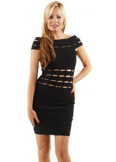 e30616346d3f Selfish Duo Black Bandage Bodycon Dress Designer Party Dresses