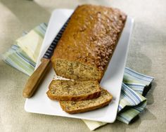 This very moist banana bread recipe is made with coconut oil. It gives it a wonderful texture and a slight tropical flavor.