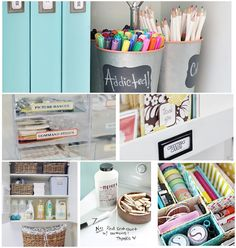 Organizing & Cleaning Tips from the I Heart Organizing Team I Heart Organizing, Organizing Your Home, Organizing Tips, Organising, Home Organisation, Storage Organization, Organize Your Life, Organize Kids, Idee Diy