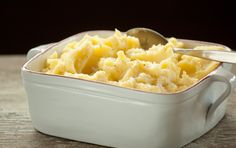 ... mashed potatoes. Stir in a handful of chopped green onions or grated