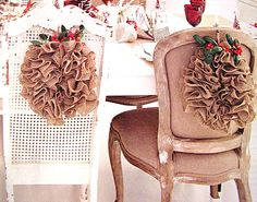 My burlap wreaths are featured in Romantic Homes magazine November 2013!  Available at www.cutepinkstuff.com