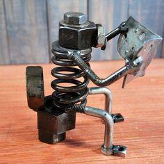 welding art nuts and bolts 2019 welding art nuts and bolts The post welding art nuts and bolts 2019 appeared first on Metal Diy. Welding Art Projects, Metal Art Projects, Metal Crafts, Welding Crafts, Blacksmith Projects, Welding Ideas, Metal Sculpture Artists, Steel Sculpture, Sculptures