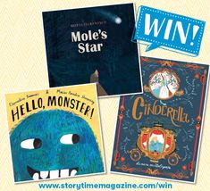 Storytime runs a kids competition each month where you can our brilliant Books of the Month and more! Enter today to be in with a chance of winning. Competitions For Kids, Latest Books, Story Time, Cinderella, Paradise, Star, Reading, Reading Books, Stars
