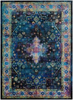 Nocera Blue/Green Area Rug