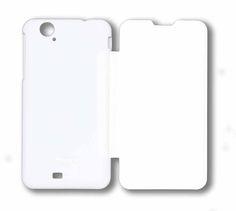 Hisense Cover U966. Carcasa delantera imitación piel y Carcasa trasera de plástico. Color Blanco #smartphone #Hisense #cover #carcasa #accesorios #blanco #tecnología #U966