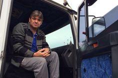"""""""A gente tem que se unir"""", diz motorista em protesto na BR-470, em Veranópolis +http://brml.co/1d8mFoS"""