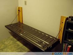 41 DIY Truck Tailgate Bench Ideas - Upcycle a Rusty Tailgate - Clicky Pix