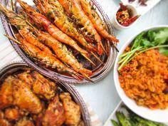 Cilantro Shrimp and Garlic Skewers (Herb Shrimp)