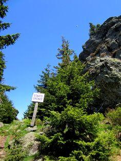Trail run on 29.05.2013 to Osser and Zwercheck in Bayerischer Wald #Bavaria. More about trail running http://trampelpfad.net