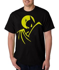 New Rare Batman Superhero Men Black T-Shirt - T-Shirts, Tank Tops