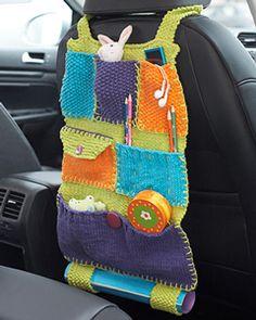 Road Trip Car Caddy - on Unpinning Pinterest+ No pattern