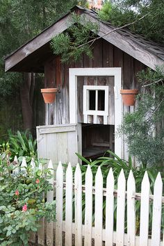 old chicken coop by rosidae, via Flickr