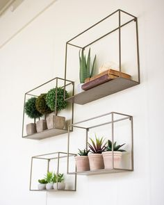 The Kalalou Metal Shelves is stylish and classy. They will catch the attention o… The Kalalou Metal Shelves is stylish and classy. They will catch the attention of all the eyes when put together. The Kalalou Metal Shelves are available in a s Cheap Home Decor, Diy Home Decor, Cheap Wall Decor, Homemade Home Decor, Living Room Decor, Bedroom Decor, Living Rooms, Apartment Living, Bathroom Wall Decor