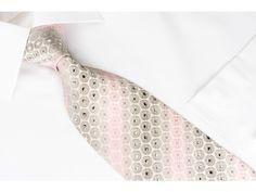 https://www.san-dee.com/rhinestone-ties/brand/nina-ricci/nina-ricci-silk-tie-pink-silver-geometric-on-white-with-crystal-rhinestones.html