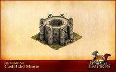 Forges of Empire: Monumentale Bauwerke Castel del Monte©InnoGames