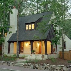 A Frame inspired little cottage.