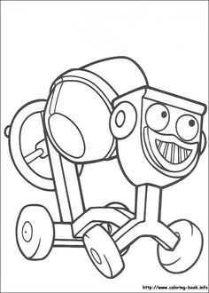 Coloring page Bob the Builder Bob the Builder on Kids n Funcouk