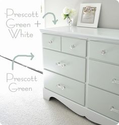 prescott green paint