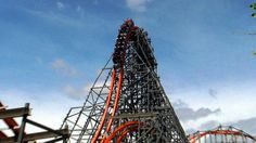 Wicked Cyclone off-ride HD @60fps Six Flags New England