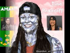 "16 Me gusta, 0 comentarios - Joyeishak Art ✍️📸🎥 (@joyeishak_art) en Instagram: ""Próximamente.. Cyber Fighters UFC, los demás personajes. #ufc #bellator #amandanunes #amandanunes😠👊…"" Ufc, Amanda Nunes, Cyber, Instagram, Make Art, I Like You, Portraits"