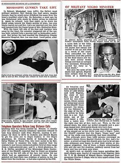 Is Mississippi Hushing Up A Lynching? Rev. George Lee Murdered in Belzoni - Jet Magazine May 26, 1955 by vieilles_annonces, via Flickr