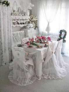 Dining shabby Chic Style