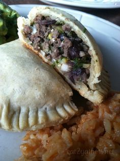Black Bean and Corn Beef Empanadas