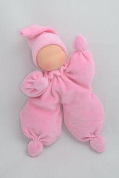 Best 12 Doll Butterfly Waldorf doll for the newborn Star by GenuineDolls - Her Crochet Toddler Dolls, Child Doll, Baby Dolls, Reborn Dolls, Doll Crafts, Diy Doll, Sock Dolls, Butterfly Baby, Sock Animals