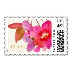 Watercolor Floral Postage Get exceptional designs, values, and quality with invitations, announcements and postage from Hallmark. Custom Postage Stamps, Self Inking Stamps, Floral Wedding Invitations, Wedding Themes, Floral Watercolor, Stationery, Favors, Magenta, Party Ideas