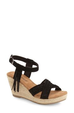 Minnetonka 'Naomi' Espadrille Wedge (Women) available at #Nordstrom