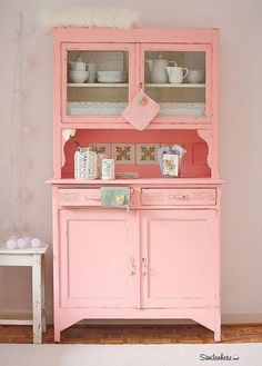 Shabby Chic Kitchen Dresser | Cupboard | (Shop und Showroom http://www.suendenherz.de/ ) #shabbychickitchendiy
