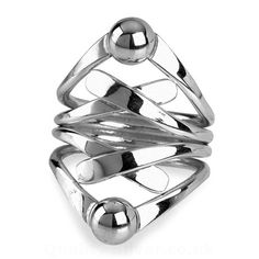 Tianguis Jackson Silver Kiss and Bead Ring