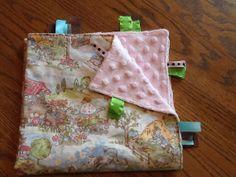 Ribbon Blanket Nursery Rhymes by BlanketsbySheryl on Etsy, $15.00
