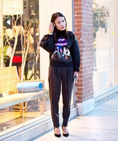 An Outfit That's Sleek, Comfy, & Quirky (So, Yeah, Basically Perfect)